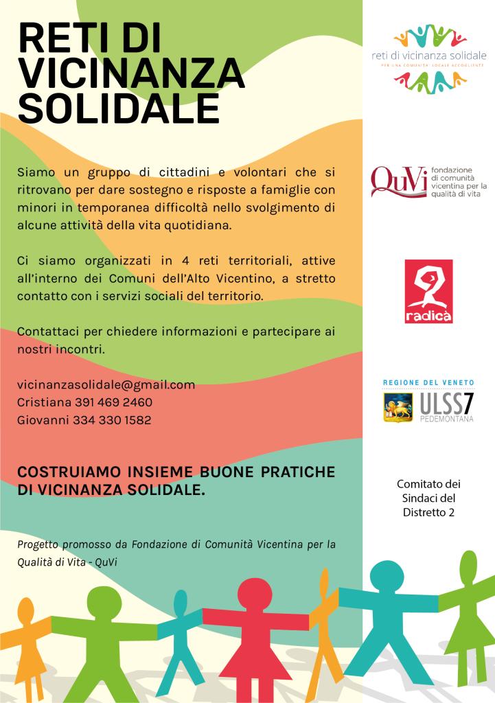 Reti Vicinanza Solidale - locandina