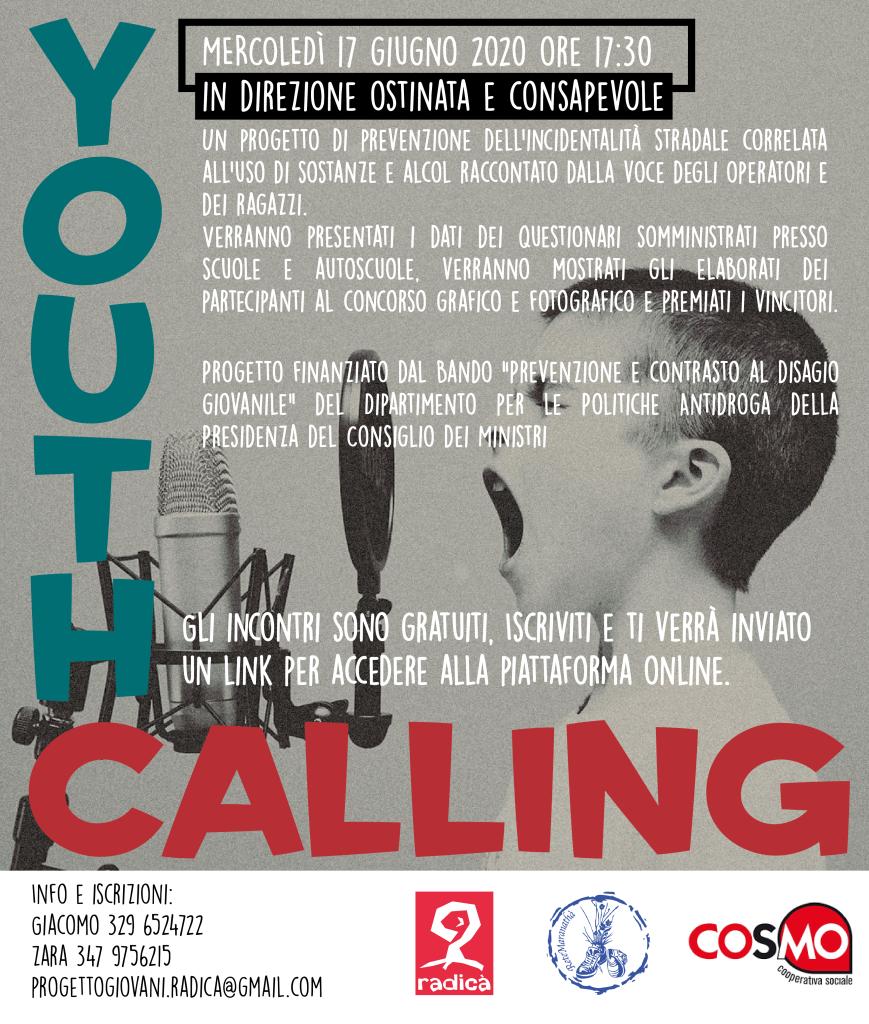 Youth Calling IDOC_Volantino