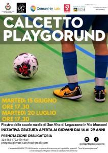 calcetto playground