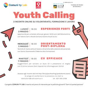 youth calling volontariato lavoro e formazione